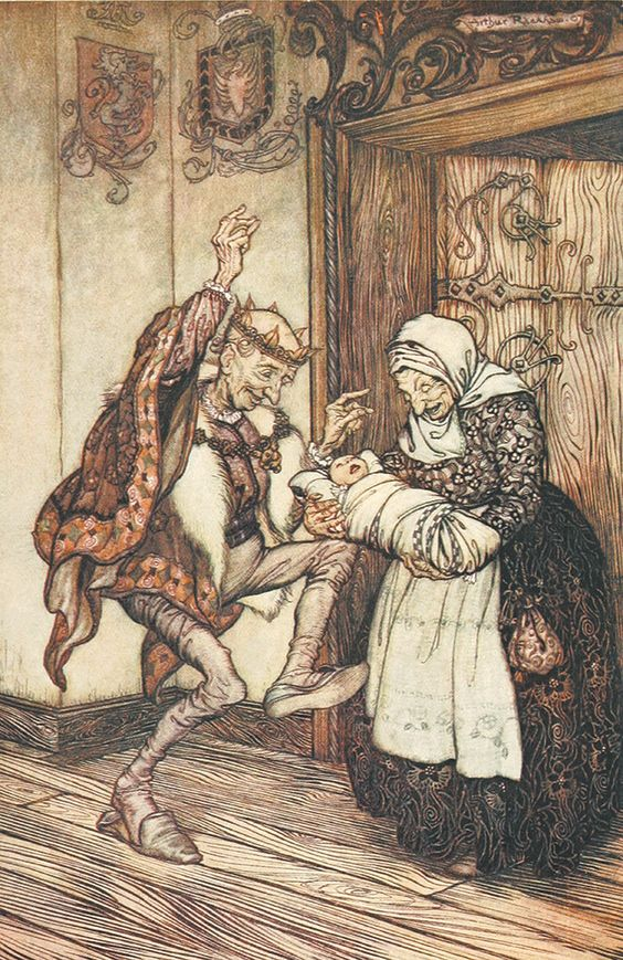 'Sleeping Beauty' Snowdrop and Other Tales illustrated by Arthur Rackham