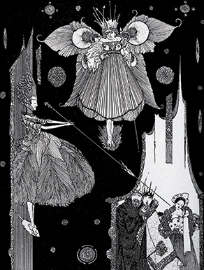 'Sleeping Beauty' Fairy Tales of Charles Perrault – Illustrated by Harry Clarke