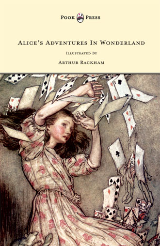 Alice in Wonderland - with Arthur Rackham illustrations
