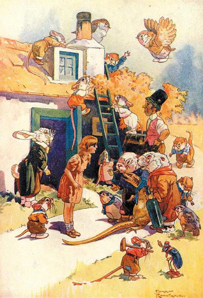 Alice's Adventures in Wonderland, Harry Rountree, 1908.