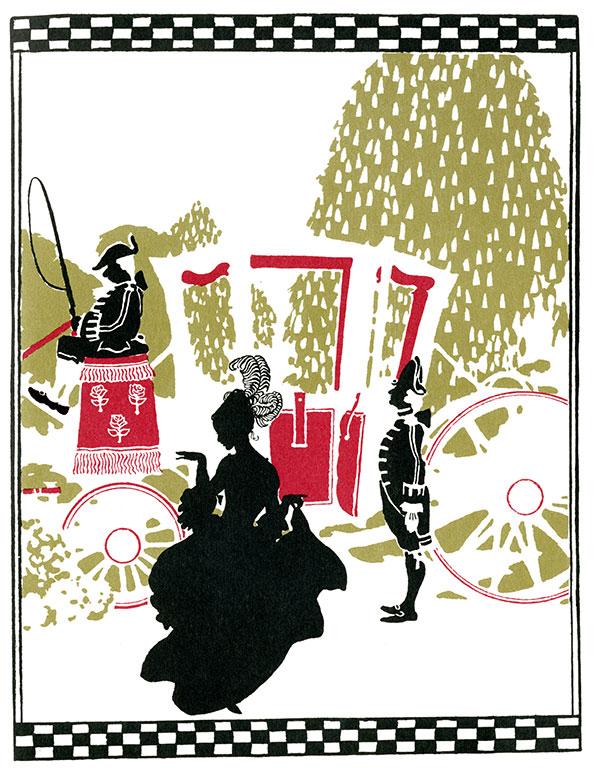 From Cinderella by Arthur Rackham, 1920.