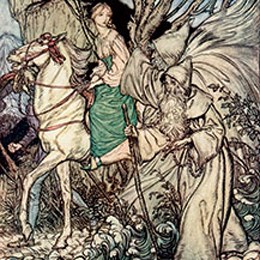 Arthur Rackham Illustration Gallery