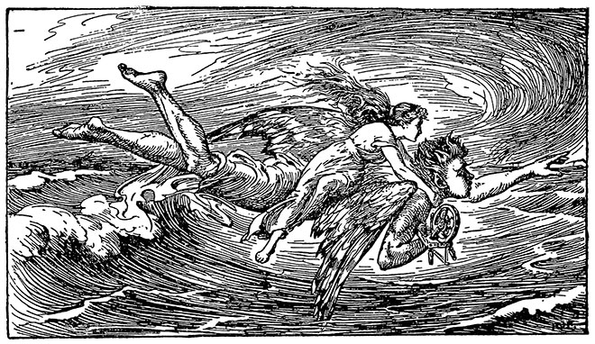 The Blue Fairy Book, H. J. Ford, 1922.