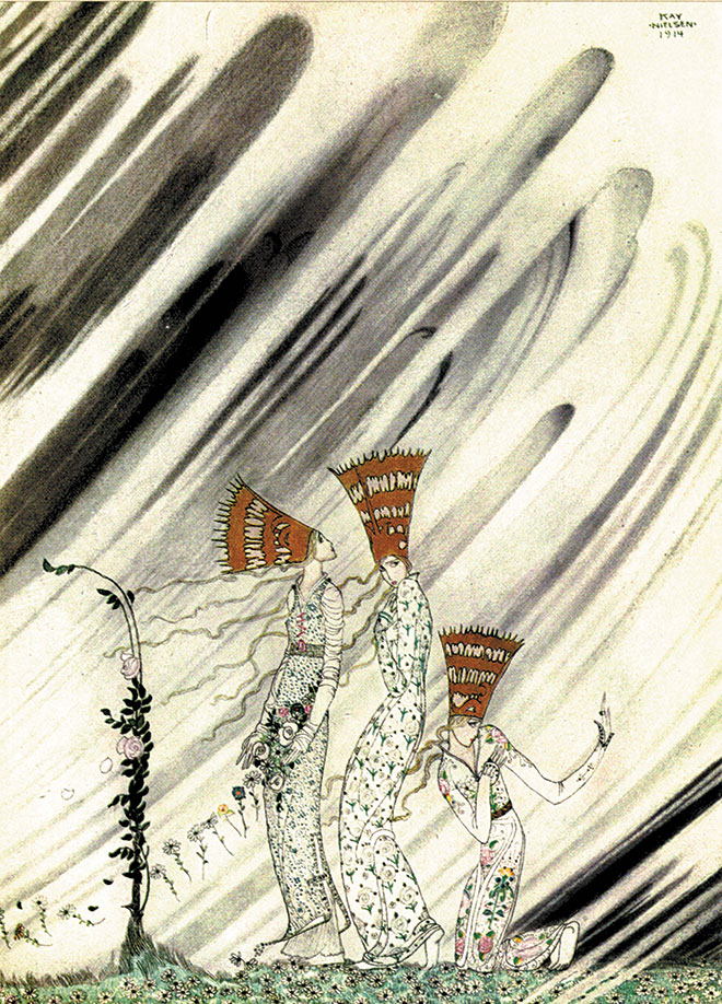 East of the Sun and West of the Moon, Kay Nielsen, 1914.