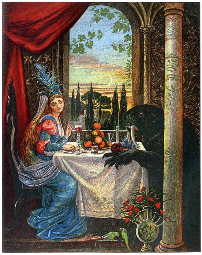 Beauty and the Beast, Eleanor Vere Boyle, 1875.