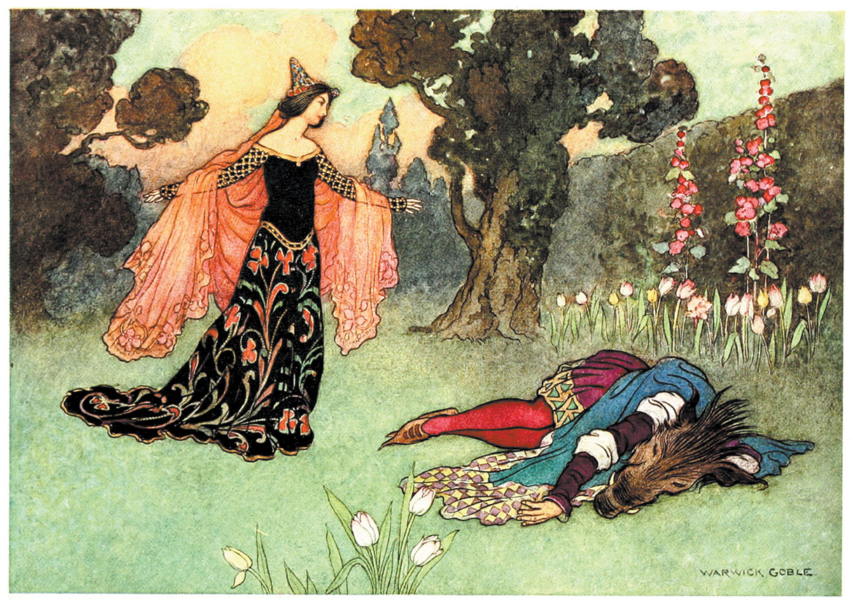 The Fairy Book, Warwick Goble, 1923.