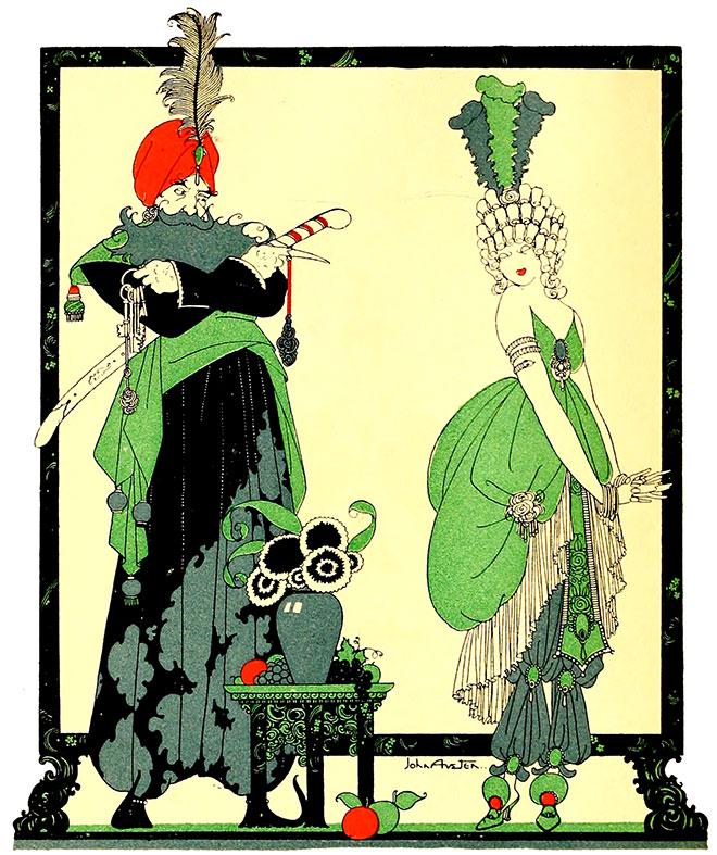 'Bluebeard' - Tales of Passed Times, John Austen, 1922.