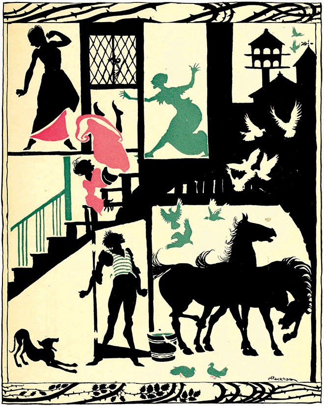 The Sleeping Beauty, Arthur Rackham, 1920.