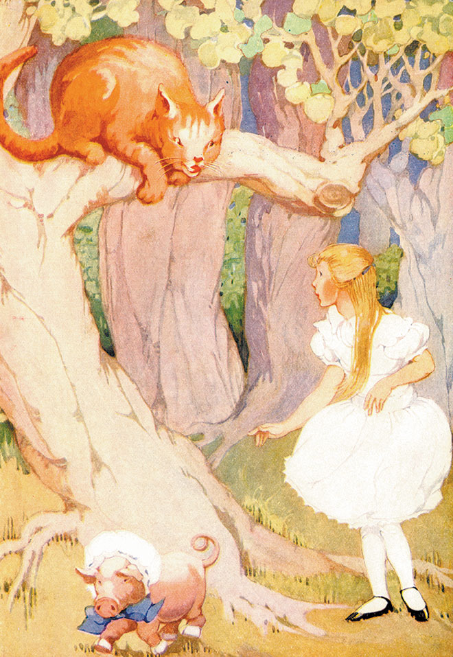 Alice's Adventures in Wonderland, Gertrude A. Kay, 1923.