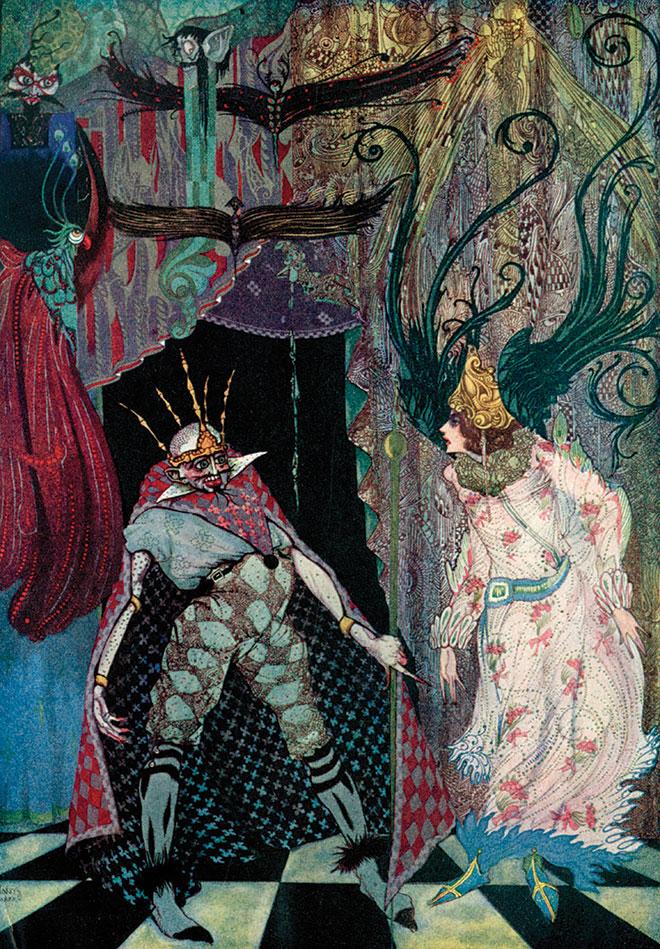 Fairy Tales by Hans Christian Andersen, Harry Clarke, 1930.