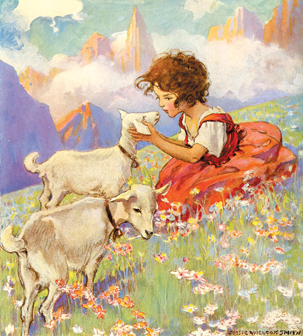 Boys and Girls of Bookland, Jessie Willcox Smith, 1923. (Golden Age Illustrated Books)