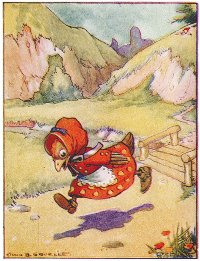 All About the Little Small Red Hen, Johnny Gruelle, 1917.