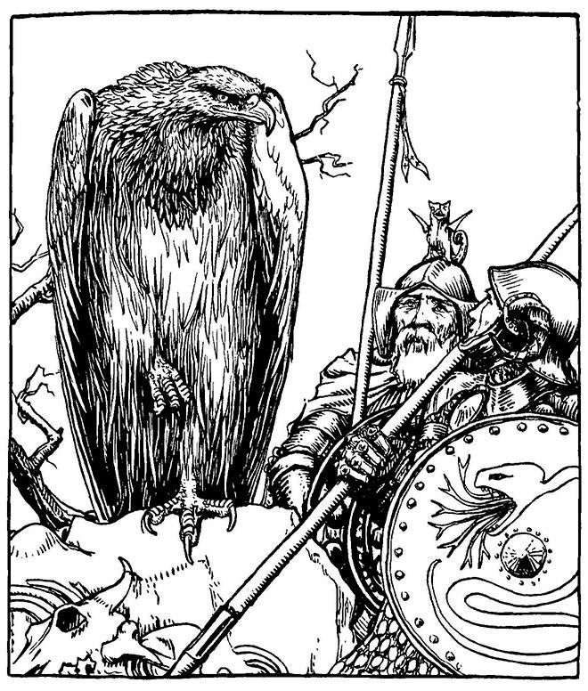 Celtic Fairy Tales, John D. Batten, 1892.