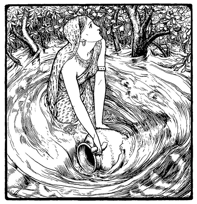 Indian Fairy Tales, John D. Batten, 1912.