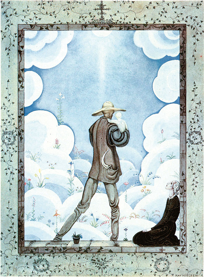 The Fairy Tales of Hans Christian Andersen, Kay Nielsen, 1924. (Golden Age Illustrated Books)