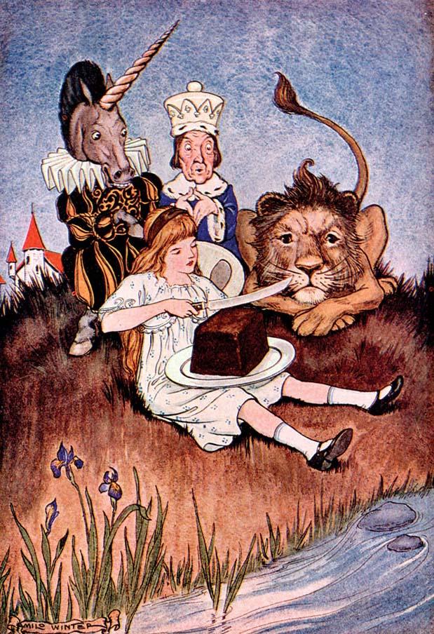 Alice's Adventure's in Wonderland, Milo Winter, 1916.