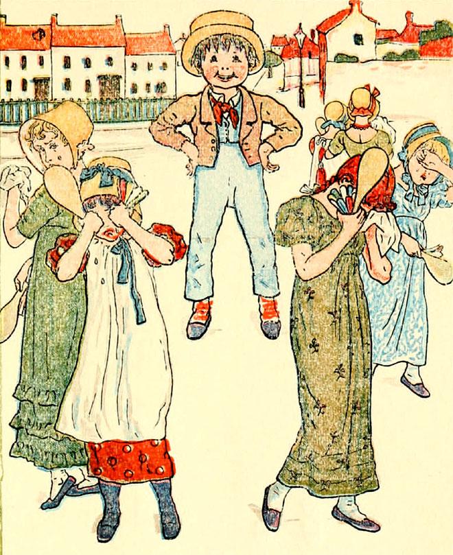 Mother Goose or The Old Nursery Rhymes, Kate Greenaway, 1900.