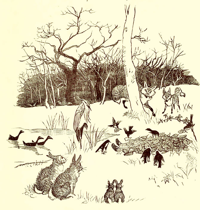 The Babes in the Wood, Randolph Caldecott, 1879.