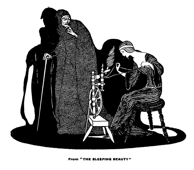'Sleeping Beauty' - My Book of Favourite Fairy Tales, Jennie Harbour, 1921.