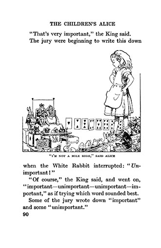 The Children's Alice - Illustrated by Honor Appleton