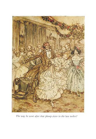 A Christmas Carol - Illustrated by Arthur Rackham