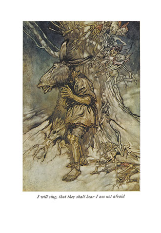 A Midsummer-Night's Dream - llustrated by Arthur Rackham