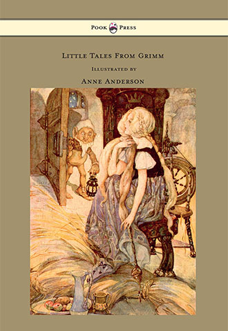 Little Tales From Grimm - Illustrated by Anne Anderson