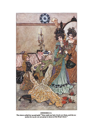 Grimm's Fairy Tales - Illustrated by Charles Folkard