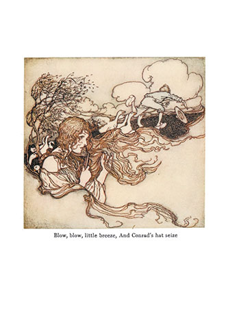 The Fairy Tales of the Brothers Grimm - Illustrated by Arthur Rackham