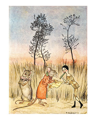 Poor Cecco - Illustrated by Arthur Rackham