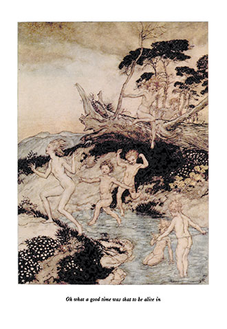 A Wonder Book - Illustrated by Arthur Rackham