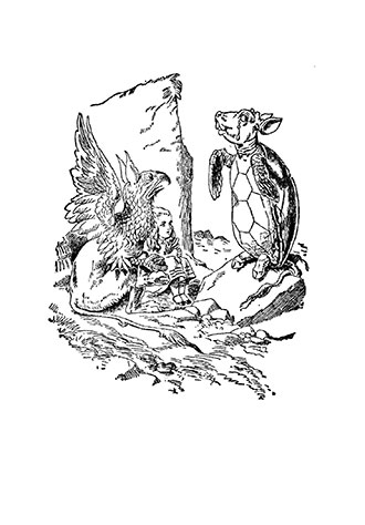 Alice's Adventures in Wonderland - Illustrated by Ada Bowley