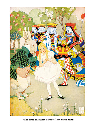 Alice's Adventures in Wonderland - Illustrated by Gertrude Kay