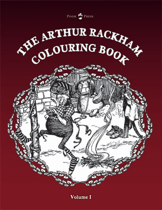 Adult Colouring Books With A Difference Rumpelstilskin Grimm Pook Presss Enchanted Kingdom