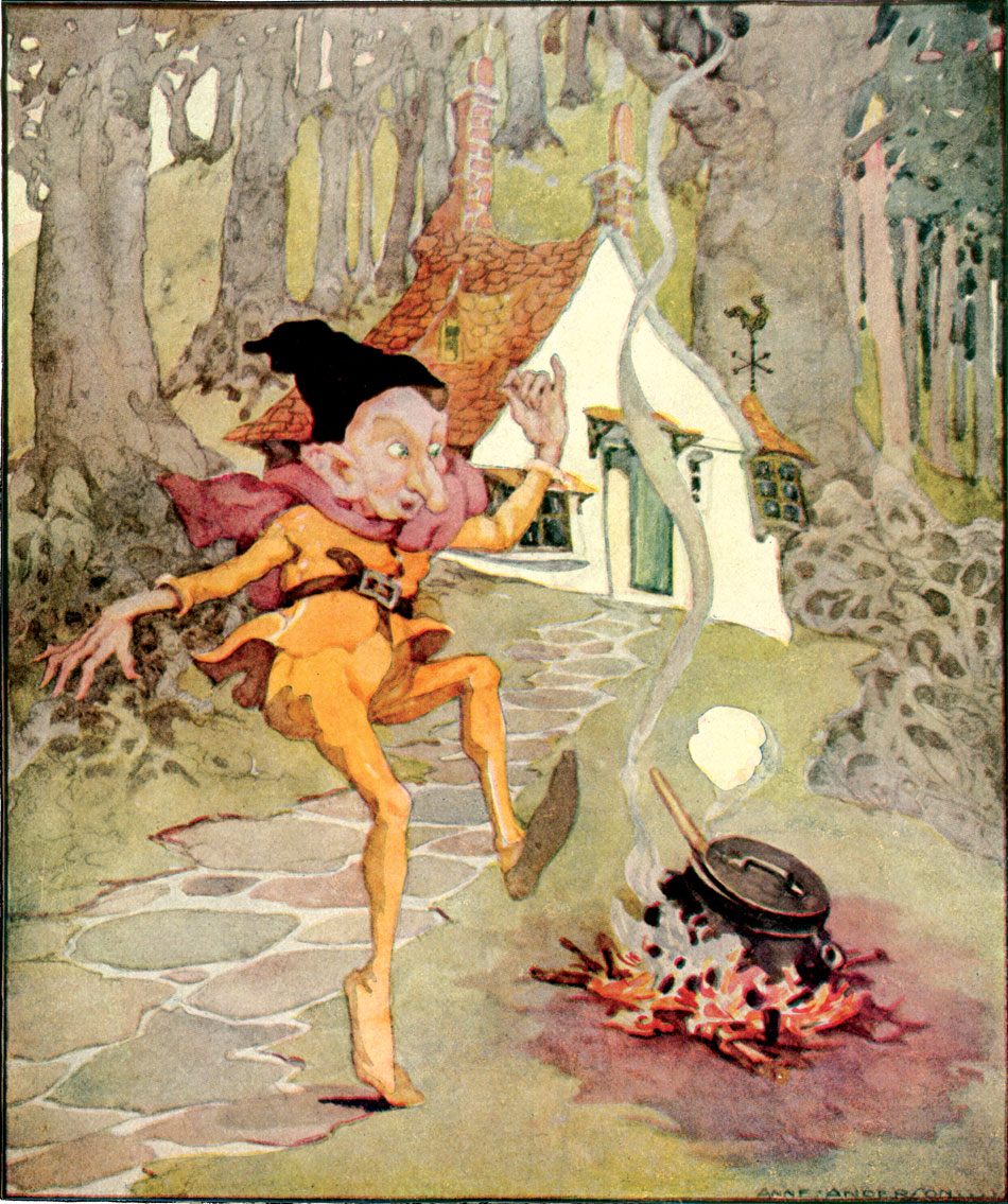 Rumpelstiltskin by Anne Anderson. From Old, Old Fairy Tales, 1935