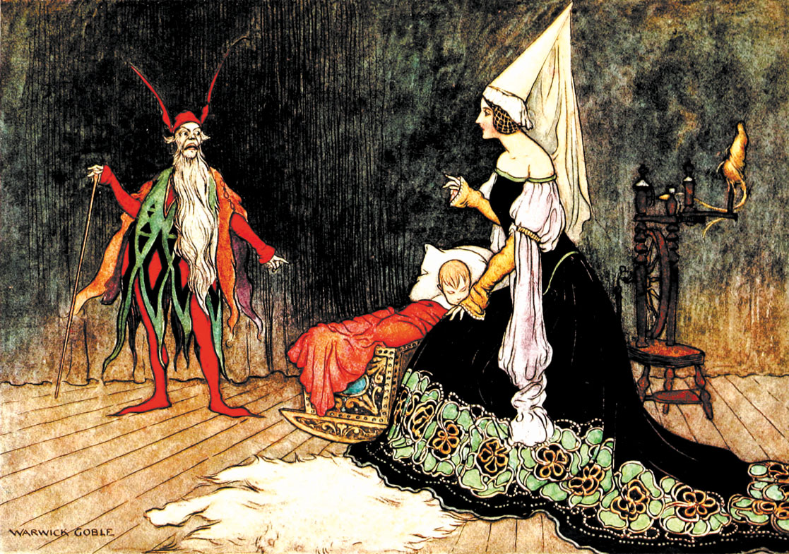 Rumpelstiltskin by Warwick Goble