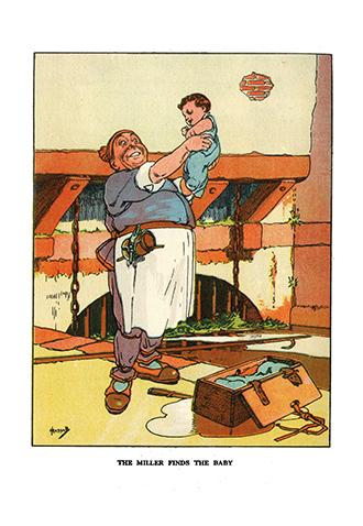 Popular Nursery Stories - Illustrated by John Hassall
