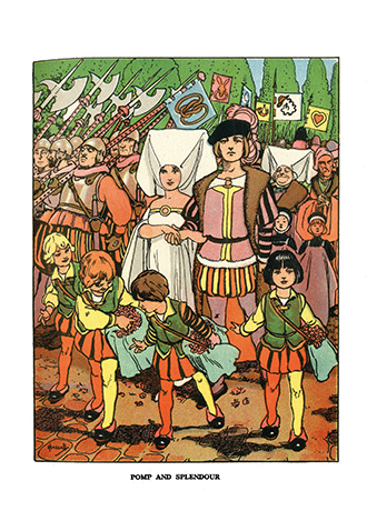 Popular Nursery Stories - Illustrated by John Hassall