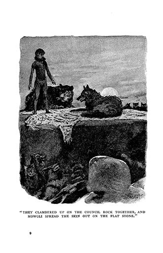 The Jungle Book - Illustrated by John Lockwood Kipling
