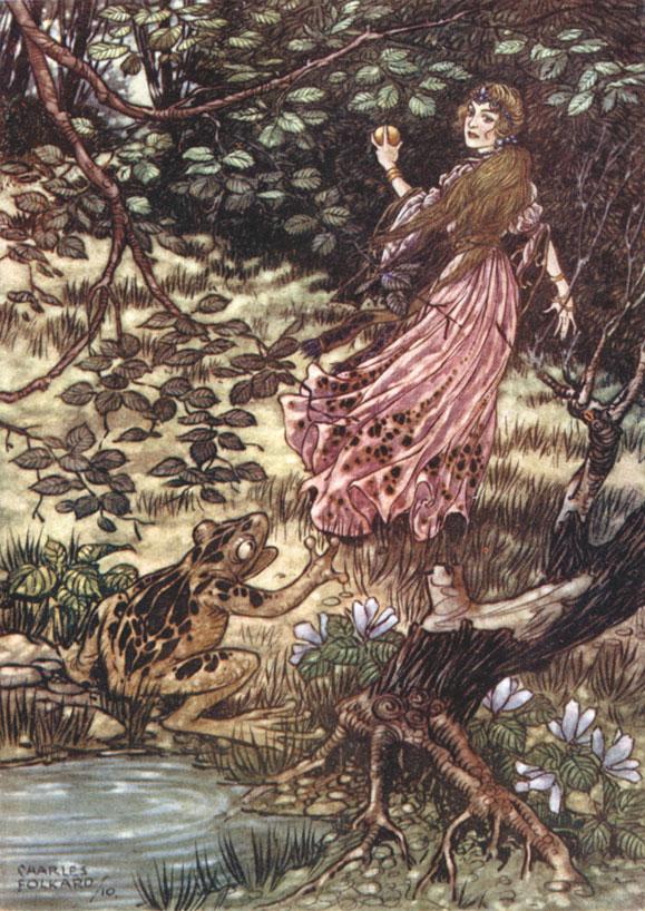 Grimm's Fairy Tales - Illustrated bu Charles Folkard