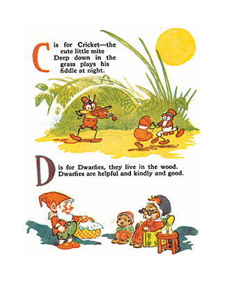 Raggedy Ann's Alphabet Book - Johnny Gruelle