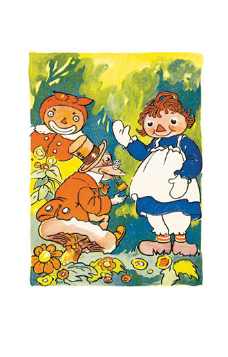 Raggedy Ann and the Hoppy Toad - Johnny Gruelle