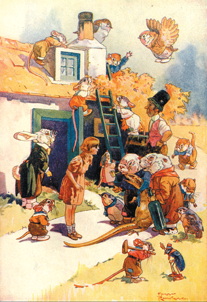 Alice's Adventures in Wonderland – Illustration by Harry Rountree