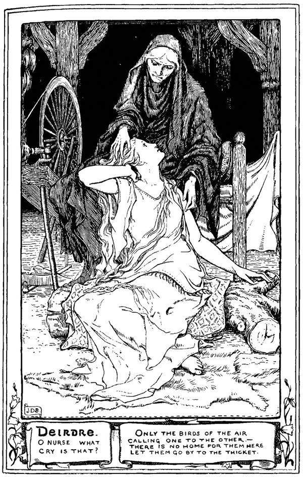 Celtic Fairy Tales – Illustrated by John D. Batten