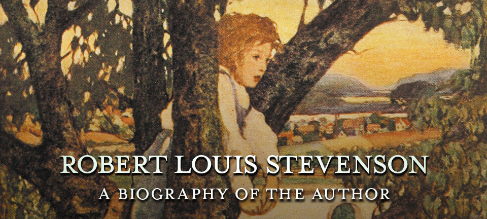 a biography of robert louis stevenson Robert louis balfour stevenson, who was born in edinburgh on november 13  1850, came from a long line of eminent lighthouse engineers.