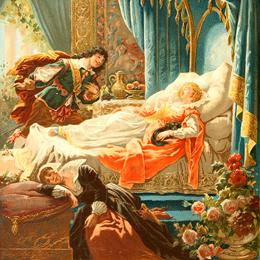 Sleeping Beauty Illustration Gallery
