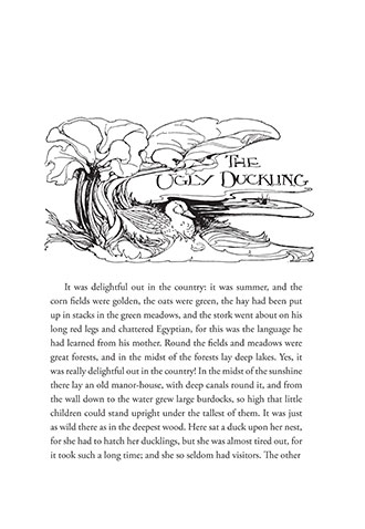 The Ugly Duckling - The Golden Age of Illustration Series