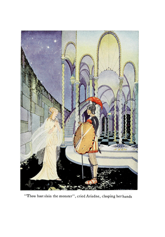 Tanglewood Tales – by Nathaniel Hawthorne illustrated by Virginia Frances Sterrett - 5