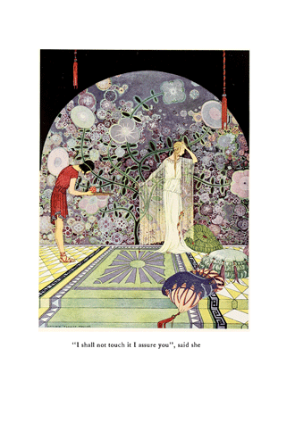 Tanglewood Tales – by Nathaniel Hawthorne illustrated by Virginia Frances Sterrett -1