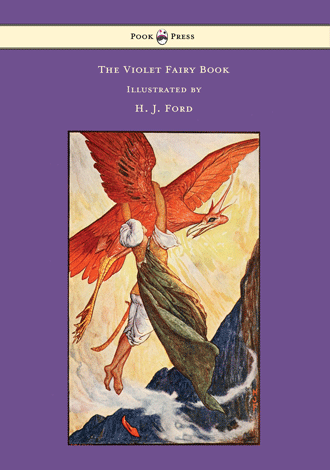 The Violet Fairy Book by Andrew Lang illustrated by H. J. Ford - Cover